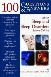 100 Questions & Answers About Sleep And Sleep Disorders by Sudhansu Chokroverty image