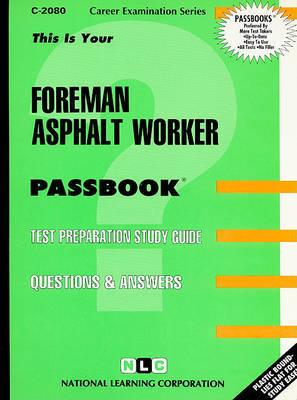 Foreman Asphalt Worker image