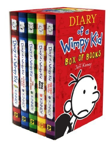 Diary of a Wimpy Kid Box of Books (Books 1-5 Boxed Set)