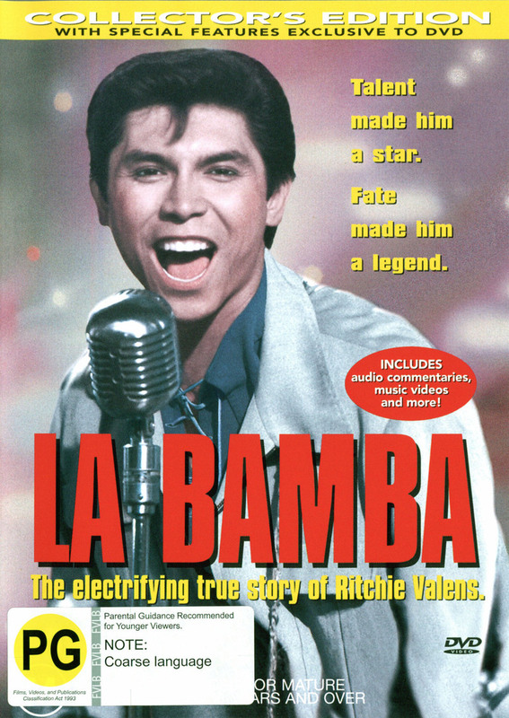 La Bamba on DVD