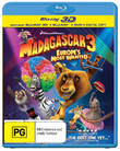 Madagascar 3: Europe's Most Wanted - 3D Superset (3D Blu-ray/Blu-ray/DVD/Digital Copy) DVD
