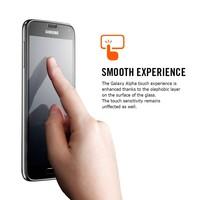 Spigen Glas.tR Slim Screen Protector for Galaxy Alpha image