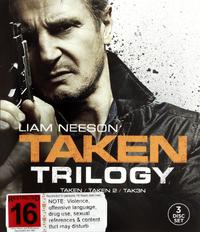Taken 1-3 Triple Pack DVD