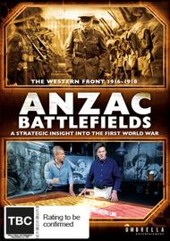 Anzac Battlefields on DVD