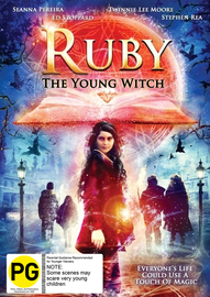 Ruby The Young Witch on DVD image