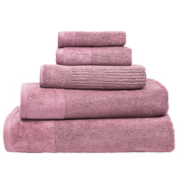 Bambury Costa Cotton Bath Towel (Dusk)