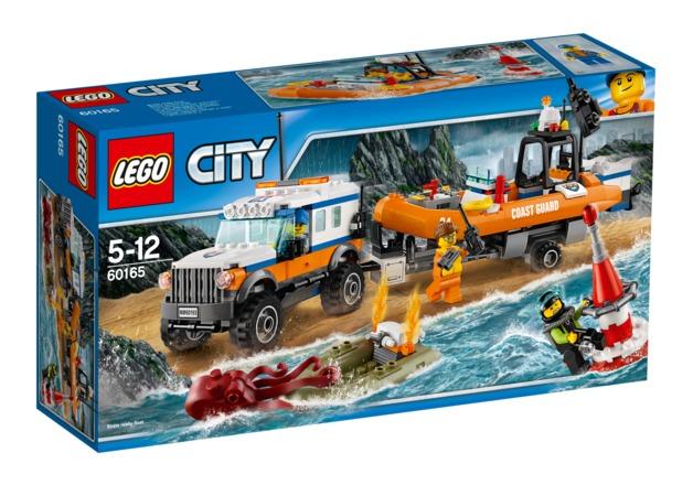 LEGO City: 4 x 4 Response Unit (60165)