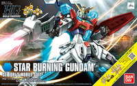 HGBF 1/144 Star Burning Gundam - Model Kit