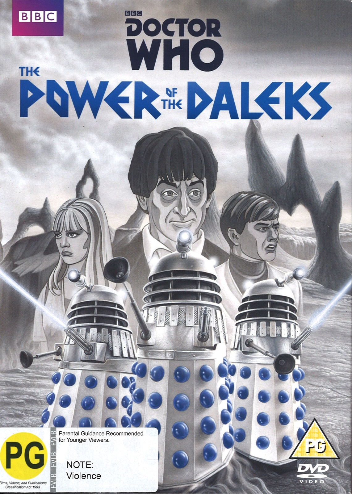Doctor Who: The Power of the Daleks on DVD image