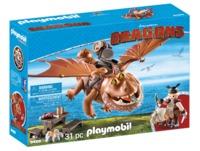 Playmobil: How to Train Your Dragon - Fishlegs & Meatlug (9459)