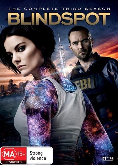 Blindspot: Season 3 on DVD