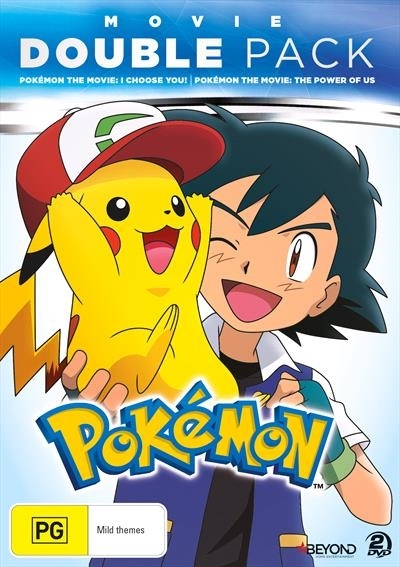 Pokemon Movie Double Pack I Choose You The Power Of Us Dvd