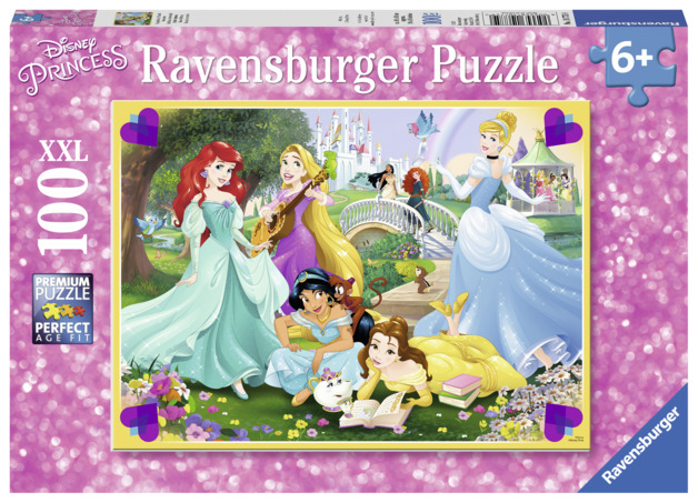 Ravensburger: 100 Piece Giant Puzzle - Disney Princess Collection
