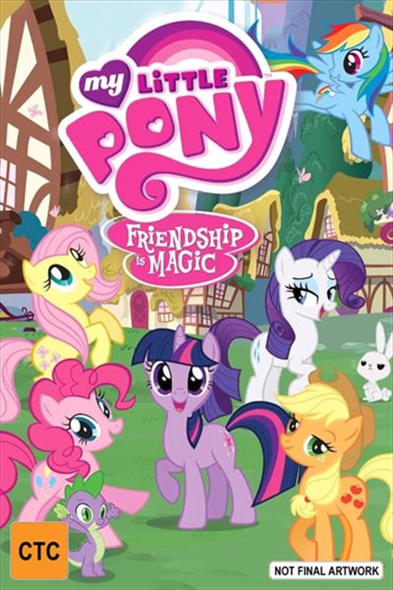 My Little Pony: Friendship Is Magic - What Lies Beneath on DVD image