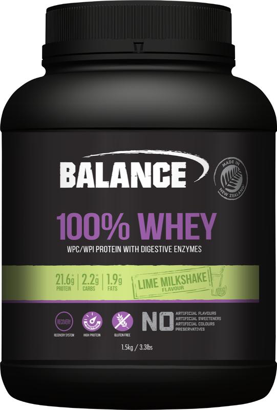 Balance 100% Whey - Lime Milkshake (1.5kg)