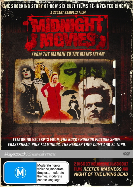 Midnight Movies - From The Margin To The Mainstream on DVD