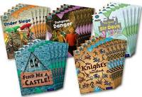 Project X Origins: Brown Book Band, Oxford Level 9: Knights and Castles: Class Pack of 30 by Steve Barlow