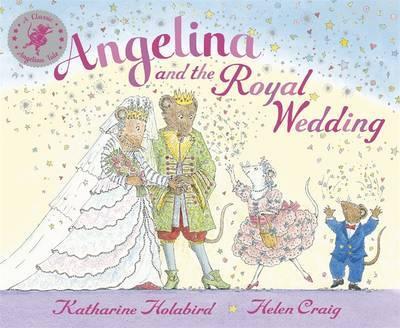 Angelina and the Royal Wedding by Katharine Holabird image