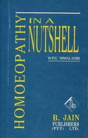 Homoeopathy in a Nutshell by W.P.G. Nimalasiri image