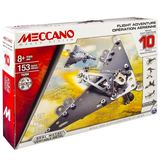 Meccano: 10 Model Starter Set - Jet