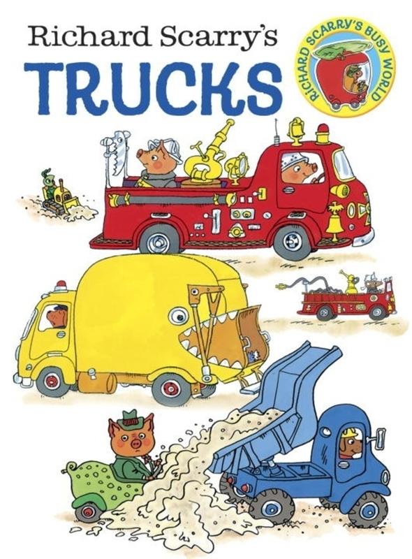 Richard Scarry's Trucks Board Book by Richard Scarry