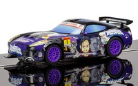 Scalextric: GT Lightning Team GT Sunset (Anime Purple) - Slot Car