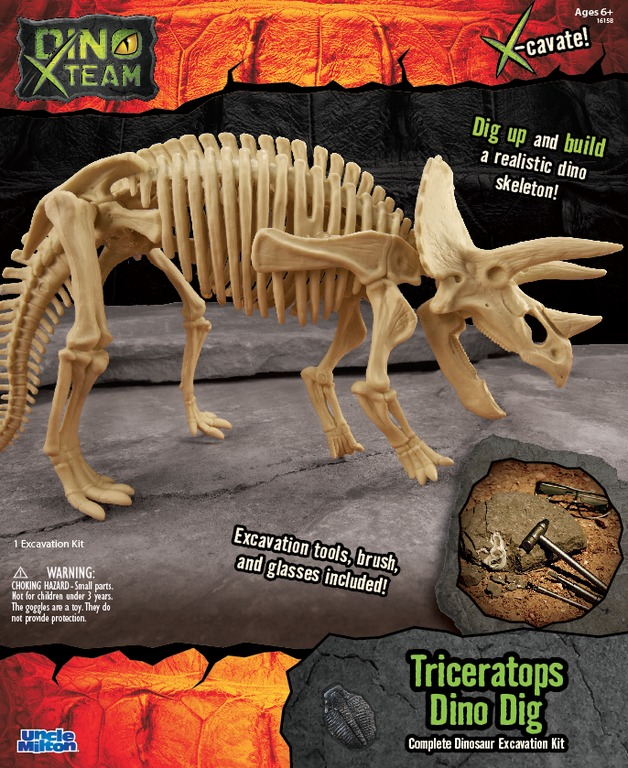 Smithsonian: X-Team Dino Digs - Triceratops