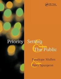 Priority Setting and the Public by Abraham Rudnick
