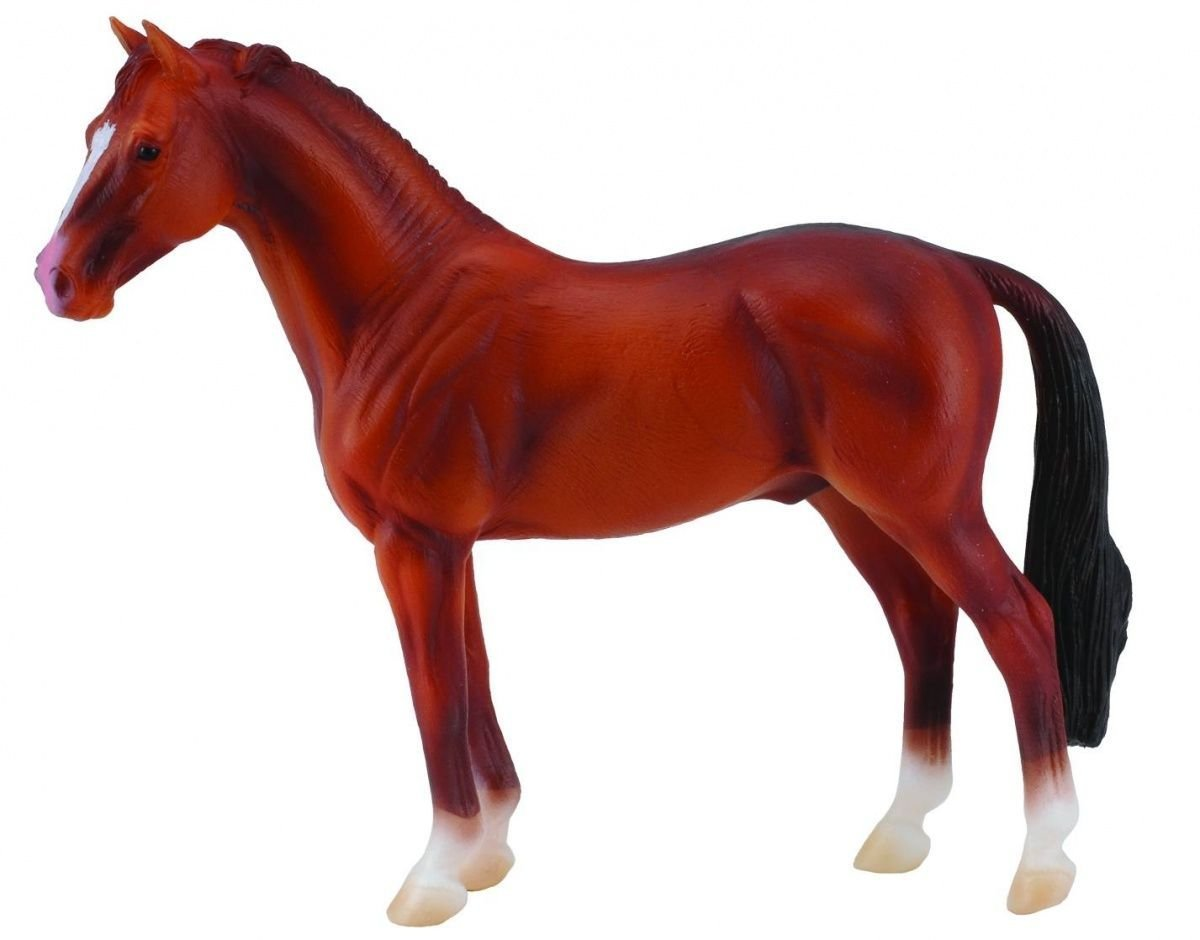 CollectA - Hanoverian Stallion (Chestnut) image