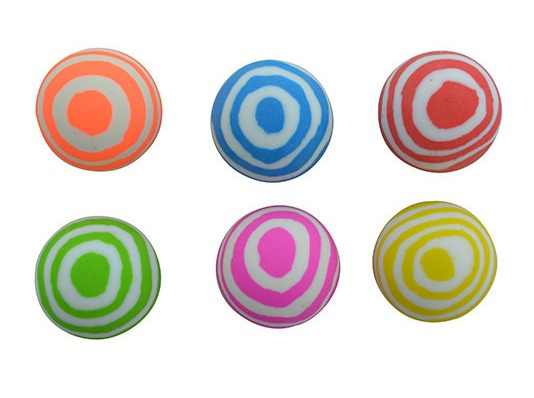 Seedling: Super Stripes High Bounce Ball - (Assorted Designs)