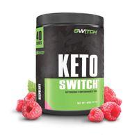 Keto Switch - Ketogenic Performance Fuel - BHB Ketones - Raspberry (40 Serves)