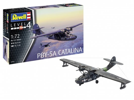 Revell: PBY-5A Catalina - 1:72 Scale Model Kit