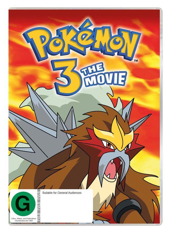 Pokémon: Spell of The Unown on DVD