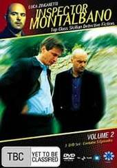 Inspector Montalbano - Vol 2 (3 Disc Set) on DVD