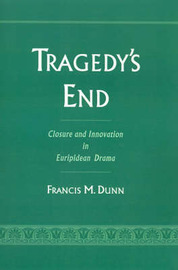 Tragedy's End by Francis M Dunn image