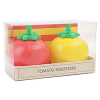 Sunnylife Tomato Squeezers - Red/ Yellow (Set Of 2)