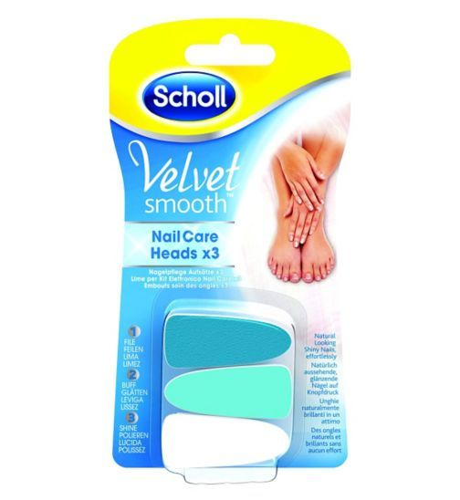 Scholl - Velvet Smooth Electric Nail Care System Refill