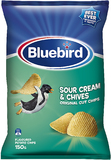Bluebird Original Cut - Sour Cream & Chives (150g)