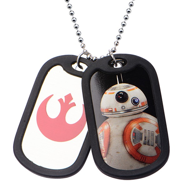 Star Wars Episode 7 BB-8 Dog Tags