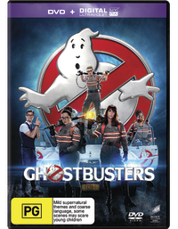 Ghostbusters (2016) on DVD
