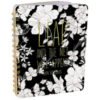 Papaya Spiral Notebook - Leap