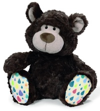 NICI: Dark Brown Bear Classic Plush (35cm)
