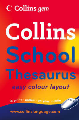 Collins School Thesaurus image