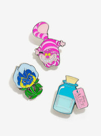 Loungefly: Enamel Pin Set - Alice In Wonderland