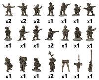 Flames of War: Weapons Platoon (Bersaglieri)