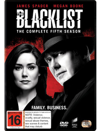 The Blacklist: Season 5 on DVD