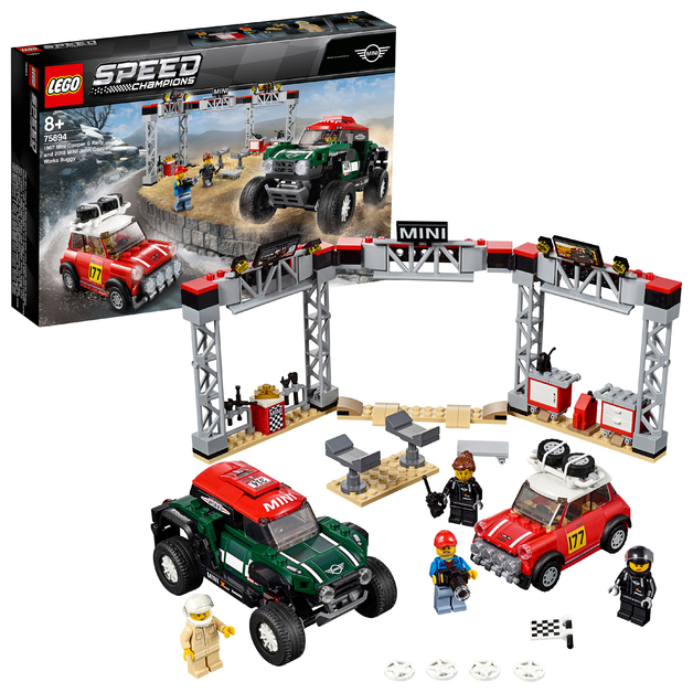 LEGO Speed Champions - 1967 Mini Cooper S Rally & 2018 MINI John Cooper Works (75894)