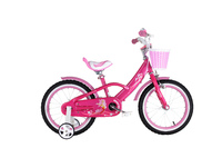 """RoyalBaby: Mermaid G-3 - 16"""" Girl's Bike (Pink)"""