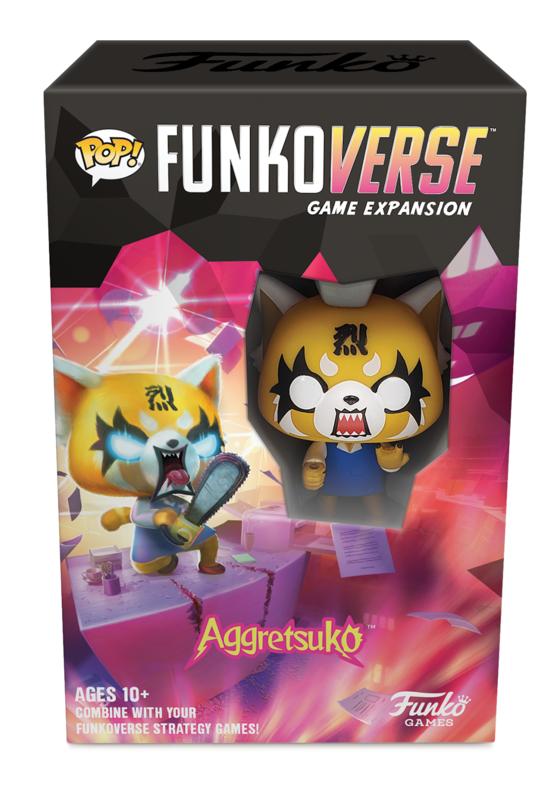 Funkoverse: Aggretsuko - Expansion (Single-Pk)