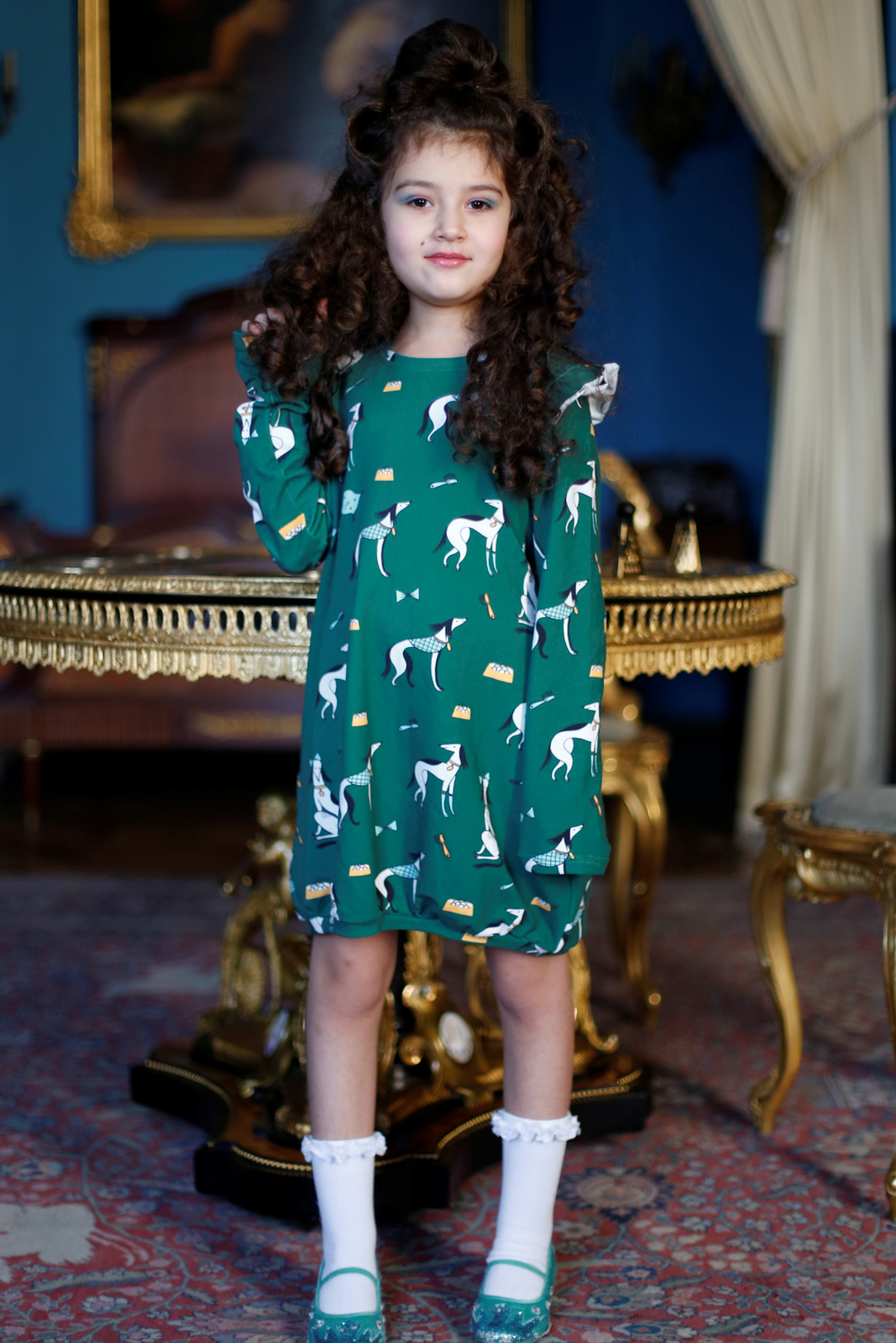 Raspberry Republic: Dress Aristodogs (Size 7) image